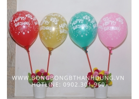 Bong bóng Happy Birthday