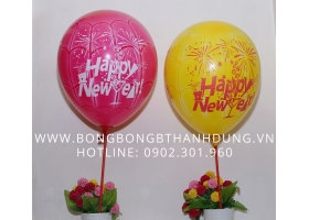 Bong bóng Happy New Year 2016